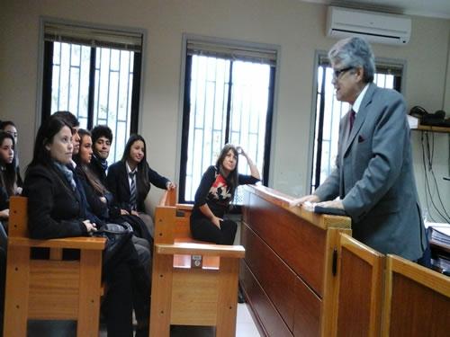 Visita al Tribunal de Juicio Oral