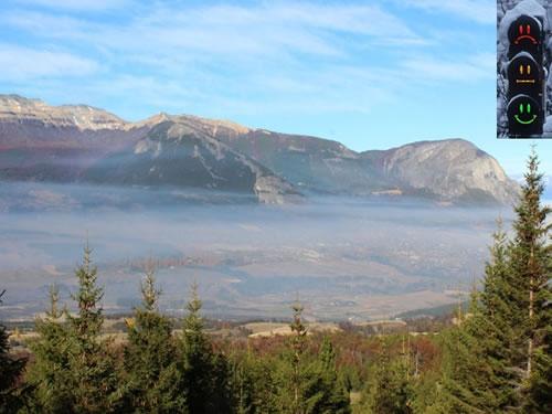 Calidad de aire ciudad de Coyhaique.
