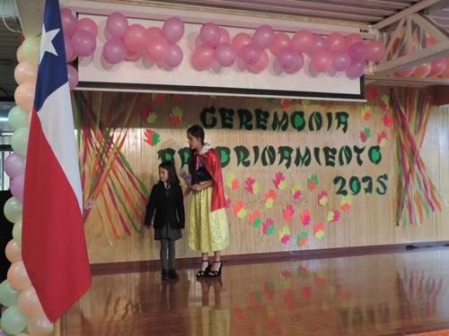 Ceremonia apadrinamiento 2015