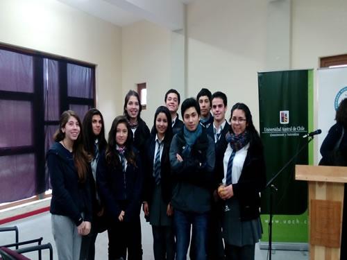 """Valiosa participación de estudiantes de nuestro Colegio en el lanzamiento oficial del proyecto de """"Biorremediación"""""""